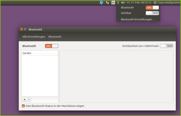 bluetooth-mit-ubuntu